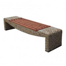 Бетонная скамейка Лира