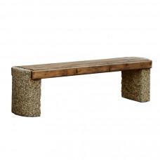 Бетонная  скамейка