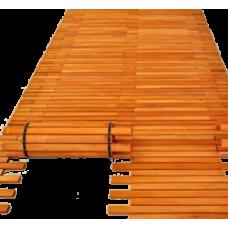 Пляжная дорожка из дерева