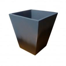 Цветочный вазон из бетона