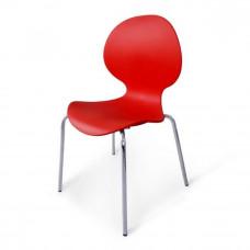 Стул пластиковый SHF-008-R Red