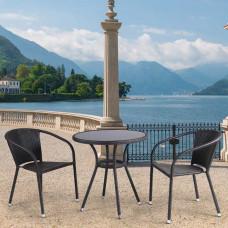 Комплект плетеной мебели T282ANS/Y137C-W53 Brown 2Pcs.