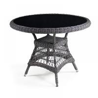 Плетеный стол T306-D105 Light brown
