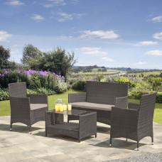 Комплект мебели из иск. ротанга AFM-2025G Grey