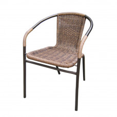 Плетеный стул Асоль TLH-037AR3 Cappuccino