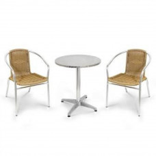 Комплект мебели LFT-3099A/T3127-D60 Cappuccino (2+1)