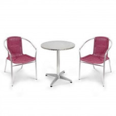 Комплект мебели LFT-3099F/T3127-D60 Bordo (2+1)