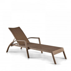 Шезлонг-лежак плетеный A30B-W56 Light Brown