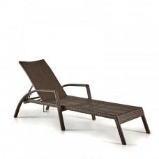 Шезлонг-лежак плетеный A30A-W53 Brown