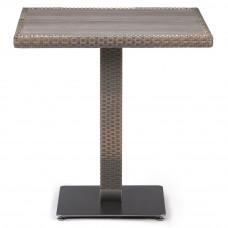 Плетеный стол T601DG-W1289-70х70 Pale