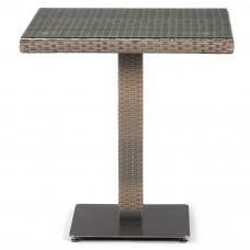 Плетеный стол T601G-W1289-70х70 Pale