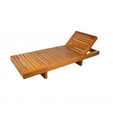 Пляжный лежак из лиственницы