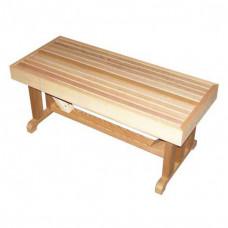 Скамейка для сауны