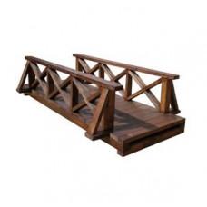 Мостик деревянный садовый