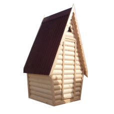 Туалет деревянный ХАУС