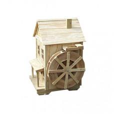 Мельница декоративная с колесом
